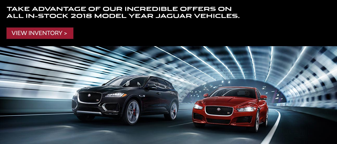 Jaguar 2018 Model Year Offer Mobile Offer